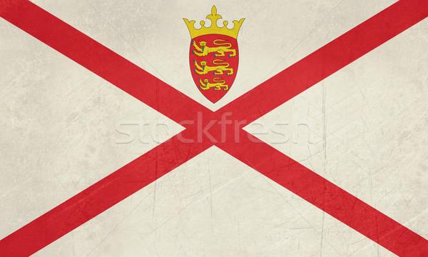 Grunge Jersey Flag Stock photo © speedfighter