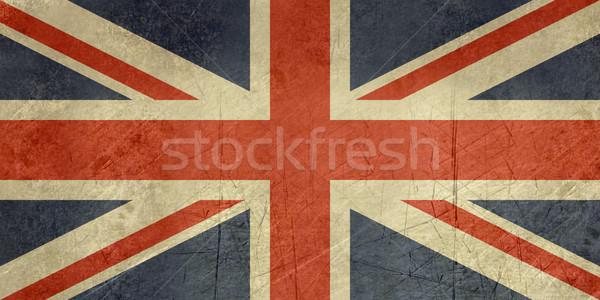 Grunge United Kingdom Flag Stock photo © speedfighter