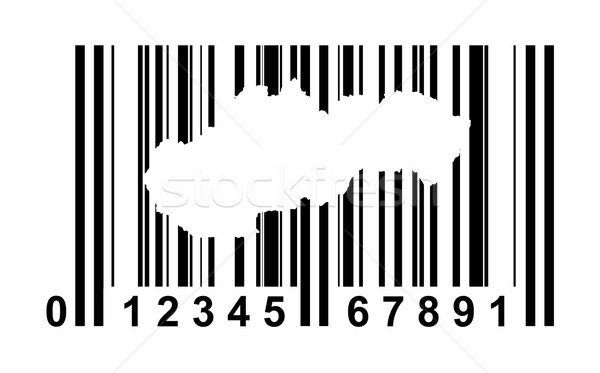 Slovakia bar code Stock photo © speedfighter