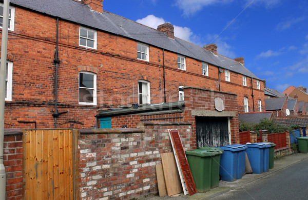 Terraced house in England Stock photo © speedfighter