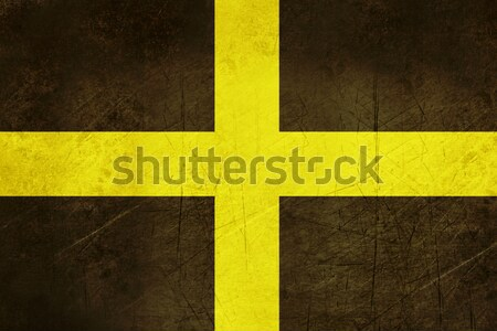 Flag of Saint David in Wales Stock photo © speedfighter