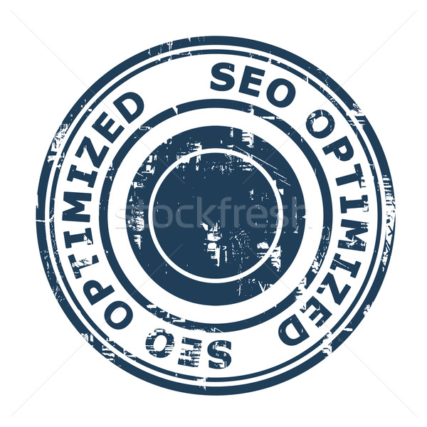 SEO Optimized concept stamp Stock photo © speedfighter