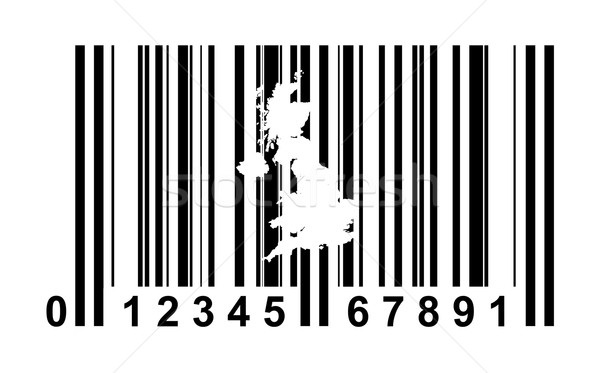 United Kingdom Bar code Stock photo © speedfighter