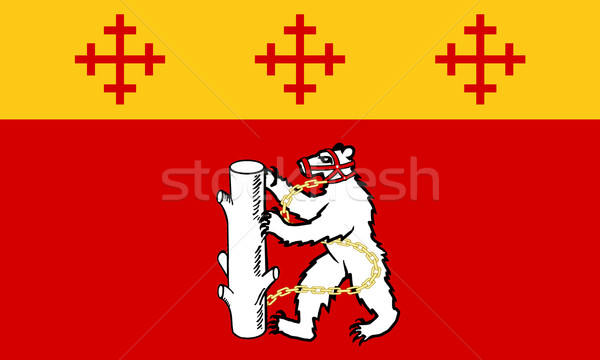 Warwickshire County flag in England Stock photo © speedfighter