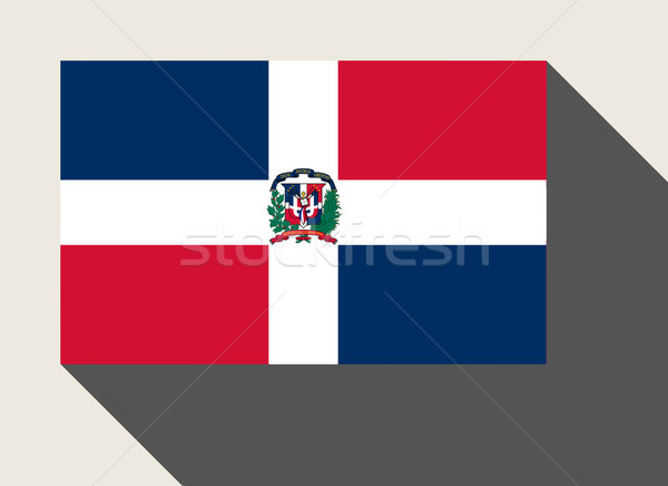 Dominican Republic flag Stock photo © speedfighter