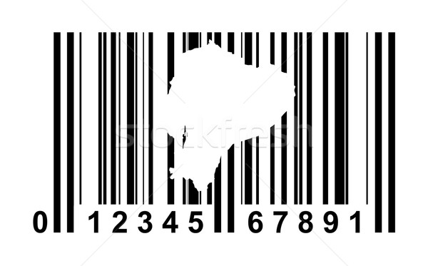 Ecuador Bar code Stock photo © speedfighter