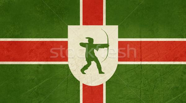 Flag of County of Nottinghamshire Stock photo © speedfighter