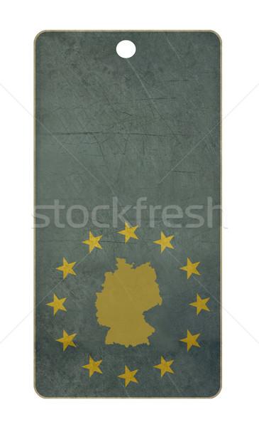 Germany travel tag Stock photo © speedfighter