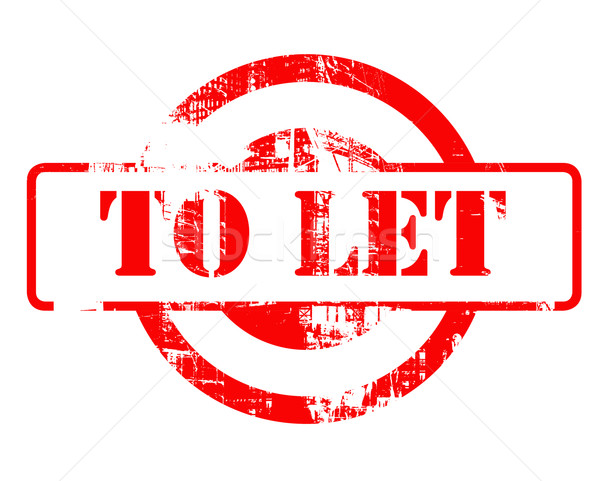To let red stamp Stock photo © speedfighter