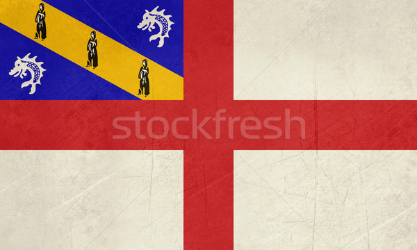 Grunge Herm Flag Stock photo © speedfighter