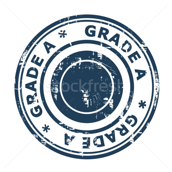 Grade A concept stamp Stock photo © speedfighter