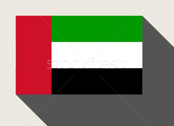 United Arab Emirates flag Stock photo © speedfighter