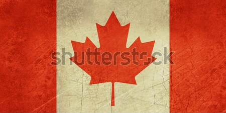 Grunge Canada Flag Stock photo © speedfighter