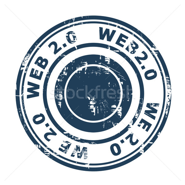 Web 2.0 stamp Stock photo © speedfighter