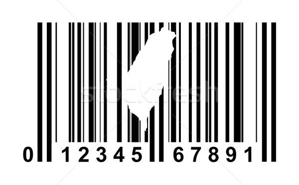 Taiwan streepjescode winkelen geïsoleerd witte reizen Stockfoto © speedfighter