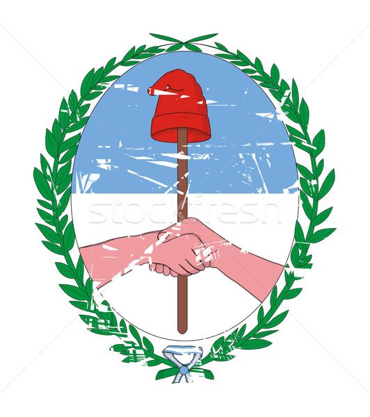 Tucuman coat of arms Stock photo © speedfighter