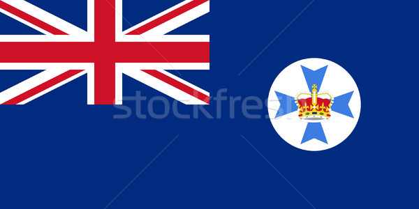 Queensland state flag Stock photo © speedfighter