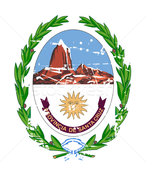 Santa Cruz coat of arms Stock photo © speedfighter