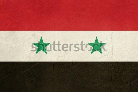 Grunge Syria Flag Stock photo © speedfighter