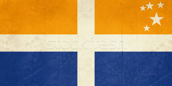 флаг Гранж стране баннер икона Сток-фото © speedfighter