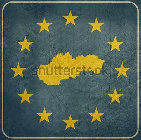 Andorra europese teken geïsoleerd witte exemplaar ruimte Stockfoto © speedfighter