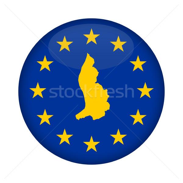 Liechtenstein map European Union flag button Stock photo © speedfighter