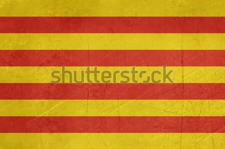 Grunge Catalonia Flag Stock photo © speedfighter