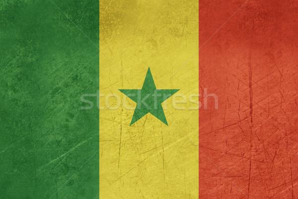Grunge Szenegál zászló vidék hivatalos színek Stock fotó © speedfighter