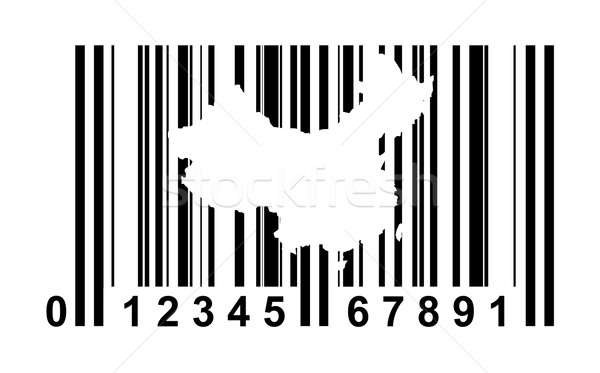 China bar code Stock photo © speedfighter