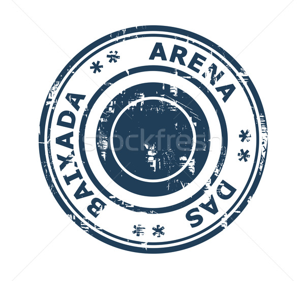 Arena da Baixada stadium stamp Stock photo © speedfighter