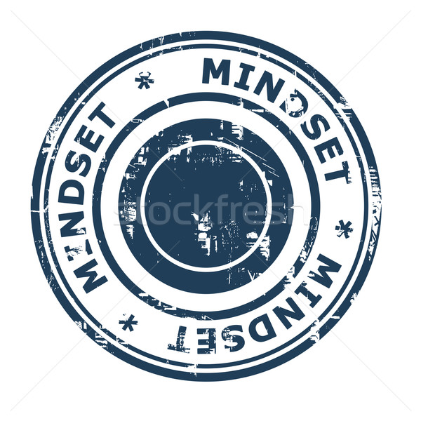 Mindset business concept rubber stamp Stock photo © speedfighter