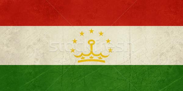 Grunge Tajikistan Flag Stock photo © speedfighter