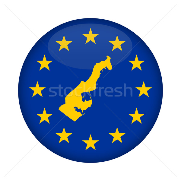 Monaco map European Union flag button Stock photo © speedfighter