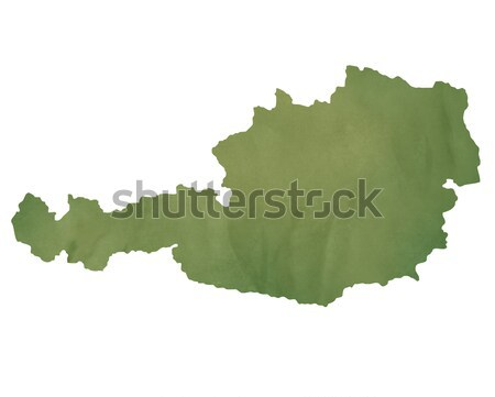 Belarus map on green paper Stock photo © speedfighter