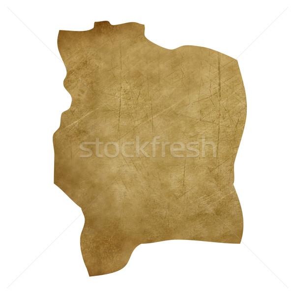 象牙海岸 グランジ 宝の地図 地図 宝 スタイル ストックフォト © speedfighter