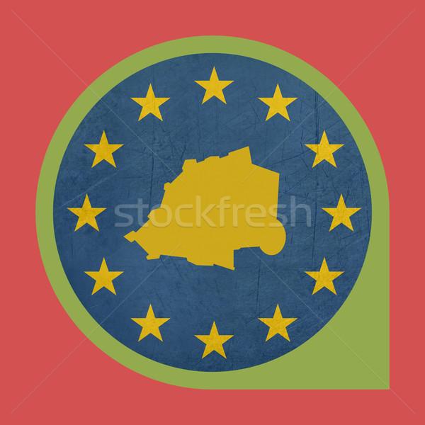ヨーロッパの 組合 バチカン市国 マーカー ピン ボタン ストックフォト © speedfighter