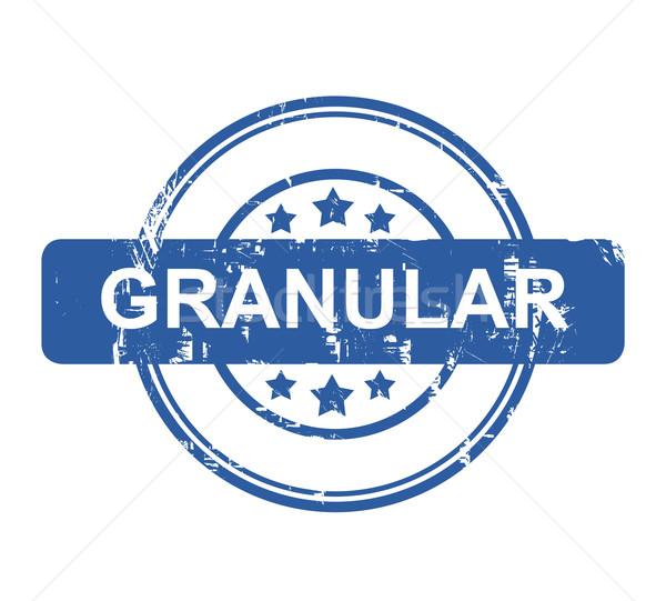 Granular business concept stamp Stock photo © speedfighter