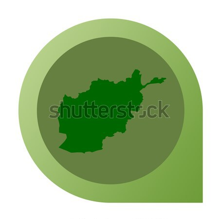 Isolated Oman map marker pin Stock photo © speedfighter