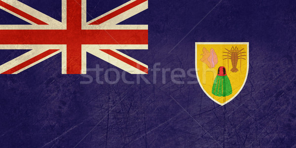 Grunge Turks and Caicos Islands Stock photo © speedfighter