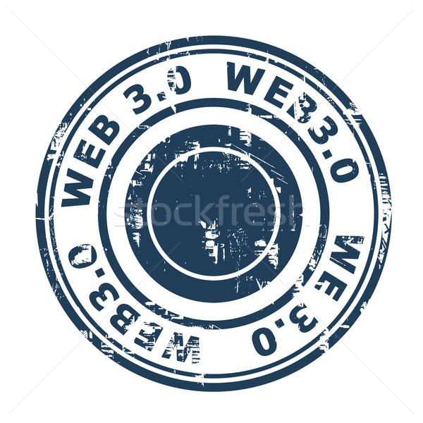 Web 30 damga yalıtılmış beyaz iş Stok fotoğraf © speedfighter