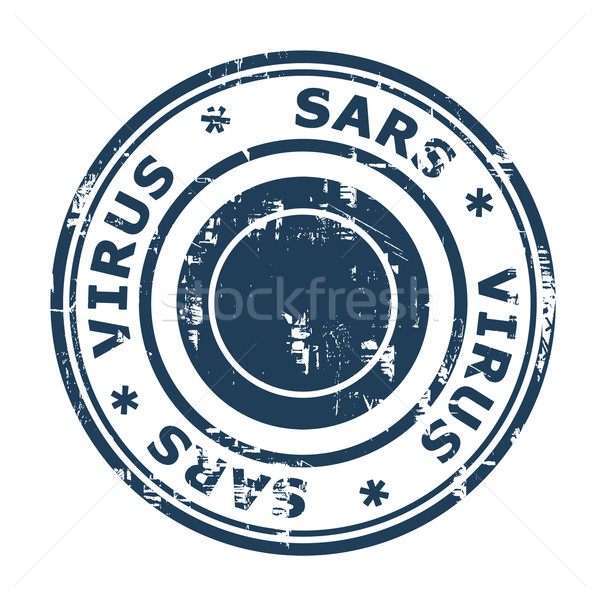 SARS Virus Stamp Stock photo © speedfighter