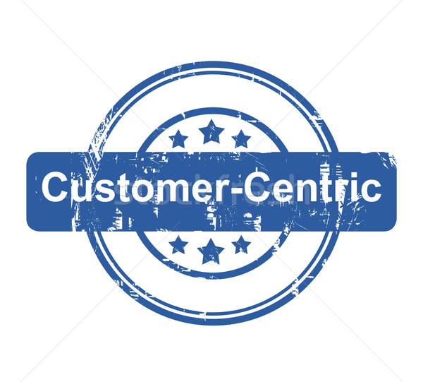 Customer Centric business concept stamp Stock photo © speedfighter