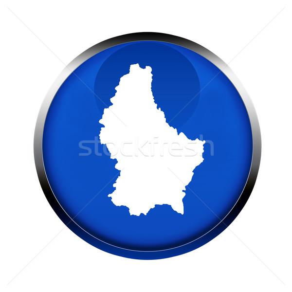 Luksemburg Pokaż przycisk kolory europejski Unii Zdjęcia stock © speedfighter