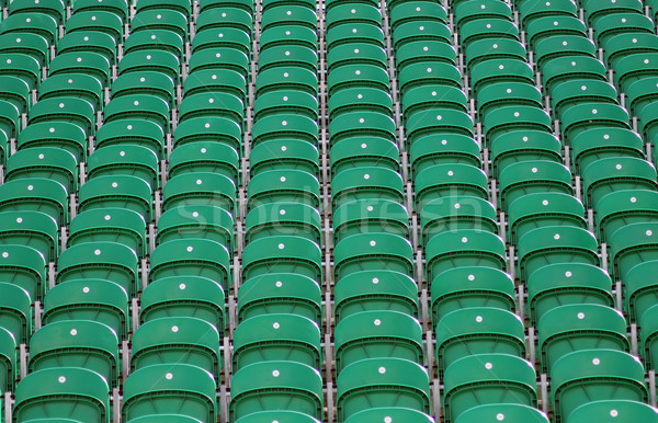 Seating in stadium Stock photo © speedfighter
