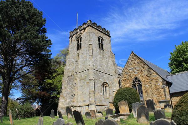 Zdjęcia stock: Starych · angielski · kościoła · cmentarz · w. · Anglii