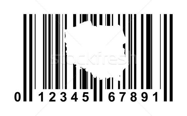 Poland bar code Stock photo © speedfighter