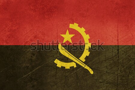 Grunge Angola Flag Stock photo © speedfighter