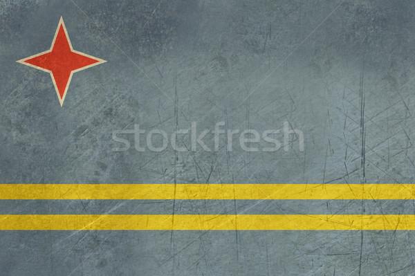 Grunge Aruba Flag Stock photo © speedfighter