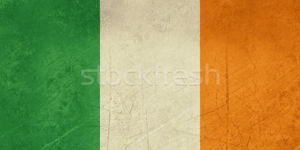 Grunge Republic of Ireland flag Stock photo © speedfighter