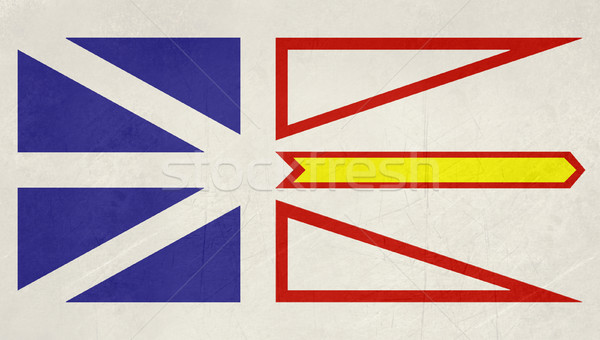 Grunge Newfoundland and Labrador state flag Stock photo © speedfighter